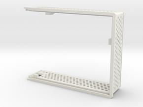 arduino enclosure main in White Natural Versatile Plastic