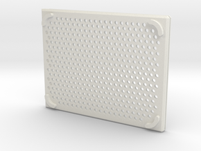 arduino enclosure bottom in White Natural Versatile Plastic