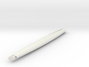 Pen 2_2 in White Natural Versatile Plastic
