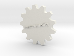 InstantReality Gear in White Natural Versatile Plastic