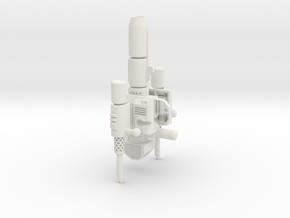 Classics Prime Smokestacks kit mk3 in White Strong & Flexible