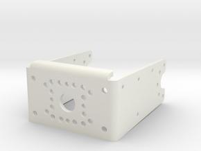 DARwIn-OP upgraded Leg part 16 in White Natural Versatile Plastic
