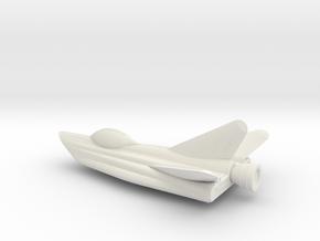 SSCF Rakatoplane in White Natural Versatile Plastic