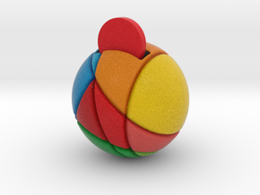 ReddCoin Spherical Logo in Full Color Sandstone