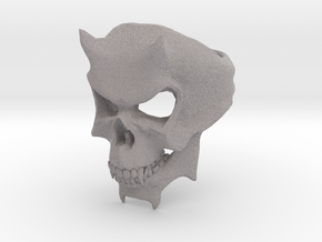 Skull Ring of DOOM in Full Color Sandstone