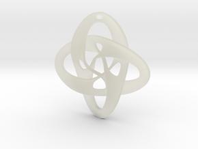 Celtic Pendant in Transparent Acrylic