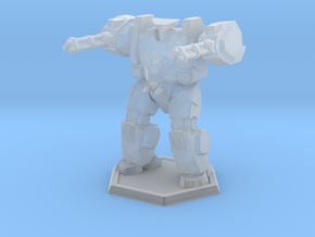 Mecha- Hunter Pose 2 (1/285th) in Smooth Fine Detail Plastic