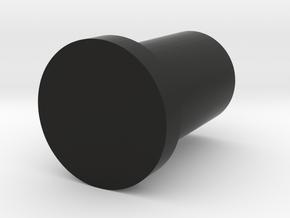 slim 3x3x4 pin (print 1) in Black Strong & Flexible