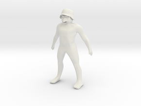 helmuth 58mm in White Natural Versatile Plastic