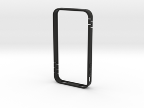 iphone4 bumper MG02 in Black Natural Versatile Plastic
