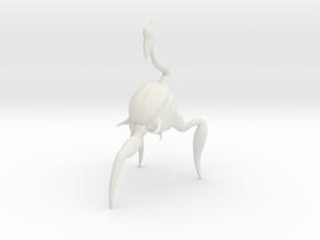 Alien bug in White Natural Versatile Plastic