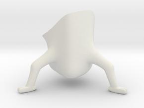 seb in White Natural Versatile Plastic