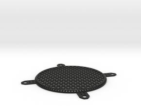 Fan Grill 80mm in Black Strong & Flexible