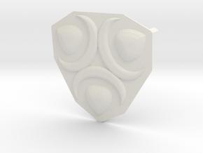 Mekki-Maru Scabbard Ornament in White Strong & Flexible