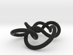 Prime Knot 6.1 in Black Strong & Flexible