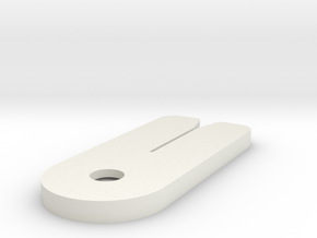 Packet Cutter in White Natural Versatile Plastic