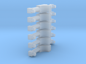 12 Antenna in Smooth Fine Detail Plastic