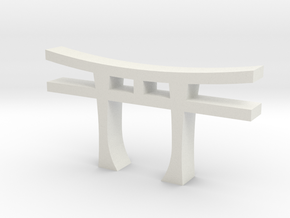 Torii in White Natural Versatile Plastic