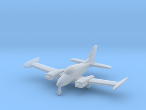 Cessna 310 - Z scale in Smooth Fine Detail Plastic