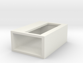 lcdbox in White Natural Versatile Plastic
