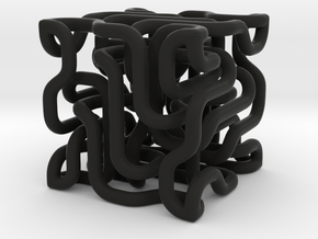 Complex cube 4-9 in Black Strong & Flexible