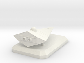 Scout (landed) in White Natural Versatile Plastic