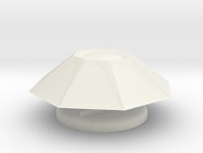 Thargoid Miniature in White Natural Versatile Plastic
