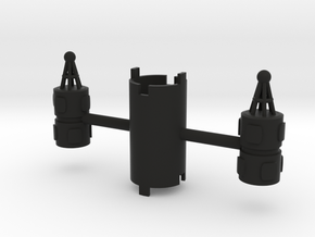 B.Y.O.S.S. 2 Cylinders Vertical in Black Strong & Flexible