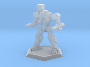 Mecha- Axe (1/500th) in Smooth Fine Detail Plastic