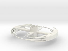 B.Y.O.S.S. Ring Square Construction ver2 in White Natural Versatile Plastic