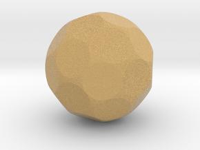 D32 Die in Full Color Sandstone