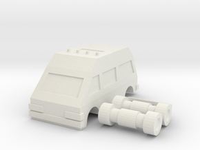 Ratchide vehicle mode in White Natural Versatile Plastic