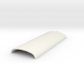 Roof 402 in White Natural Versatile Plastic