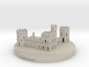 Clytha Castle in Natural Sandstone