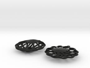 earrings 13 in Black Strong & Flexible