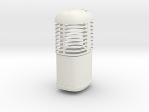 We no speak OREGANO -shaker in White Natural Versatile Plastic