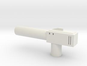 Sunlink - Barrel Gun in White Strong & Flexible