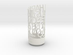 LA BRUYERE in White Natural Versatile Plastic