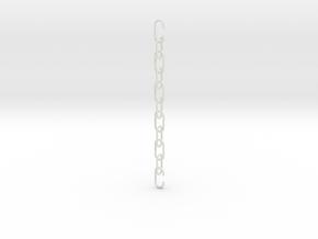 Chain in White Natural Versatile Plastic