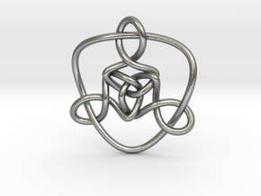 Celtic Knots 01 (small) in Natural Silver