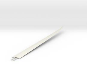 Nimbus 4D left wing 1/32 in White Natural Versatile Plastic