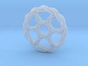 Celtic Knots 07 (small) in Smooth Fine Detail Plastic