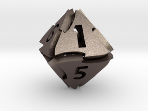 Tranglex Eight-Sided Die in Stainless Steel