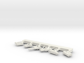 sprue in White Natural Versatile Plastic