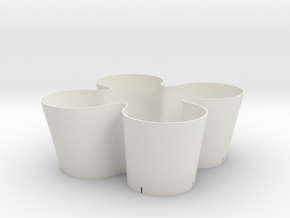 pot.on.top in White Natural Versatile Plastic