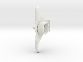 Easylife - Wall mount for iPhone3 in White Natural Versatile Plastic