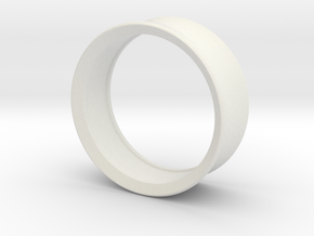 Ring_one in White Natural Versatile Plastic