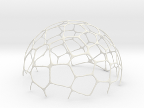 voronoi bowl 14 cm in White Natural Versatile Plastic