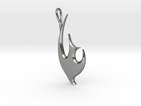 Dove - 2 in Polished Silver