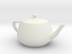 Teapot_keyfob_2cm in White Natural Versatile Plastic